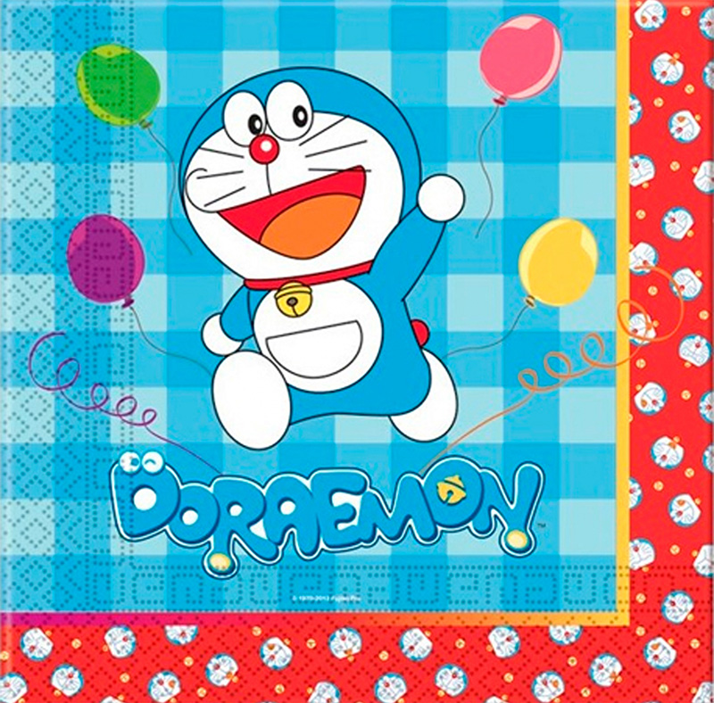 Serviette Doraemon